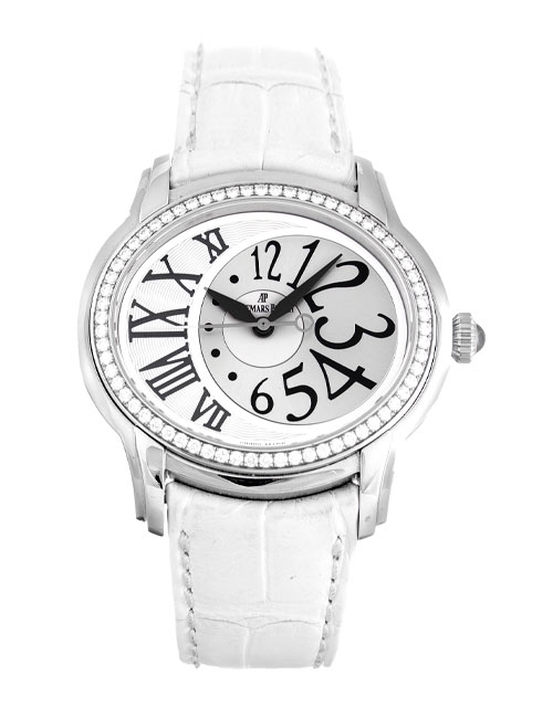 Audemars Piguet Millenary Ladies Stainless Steel Diamonds