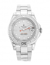 Rolex Yacht-Master 35 Platinum and Steel 168622