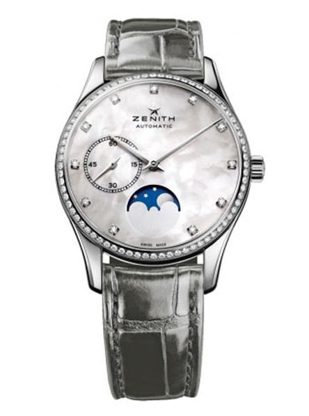 Zenith Elite Heritage Ultra Thin Lady Moon