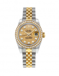 Rolex Datejust Lady 26mm Steel And Yellow Gold 179383