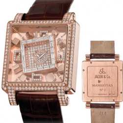 Jacob & Co Metropoli Manhattan Rose Gold