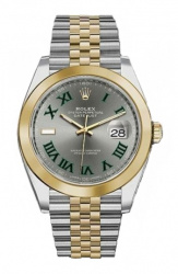 Datejust Steel and Yellow Gold 41mm