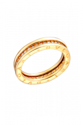 B.Zero1 Yellow Gold Single Band Diamond Ring