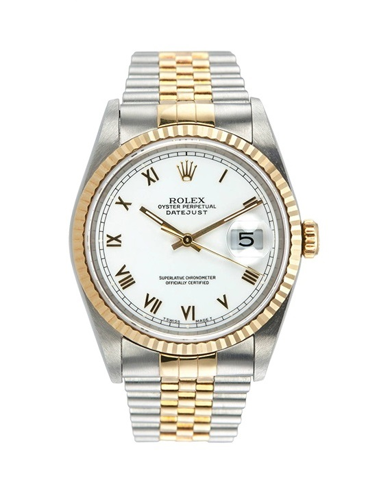 Rolex Datejust II 36mm Steel and Yellow Gold
